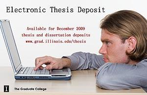 purdue electronic thesis deposition Learn about purdue university's college of graduation information click here for instructions on how to submit your electronic thesis/dissertation.