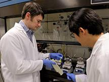 Bioengineering Assistant Professor Andrew Smith and post-doc Sung Jun Lim
