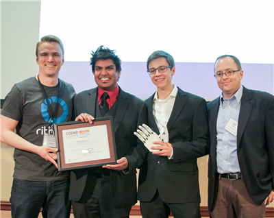 PSYONIC was the winner of the Cozad New Venture Competition for 2015, in the University funded track.