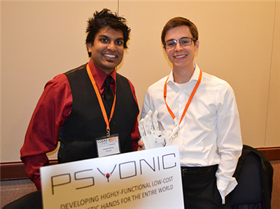 PSYONIC co-founders Aadeel Akhtar and Patrick Slade