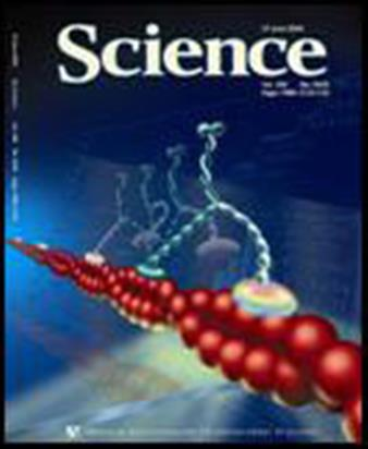 Cover of Science, announcing the Selvin-Yildiz discovery