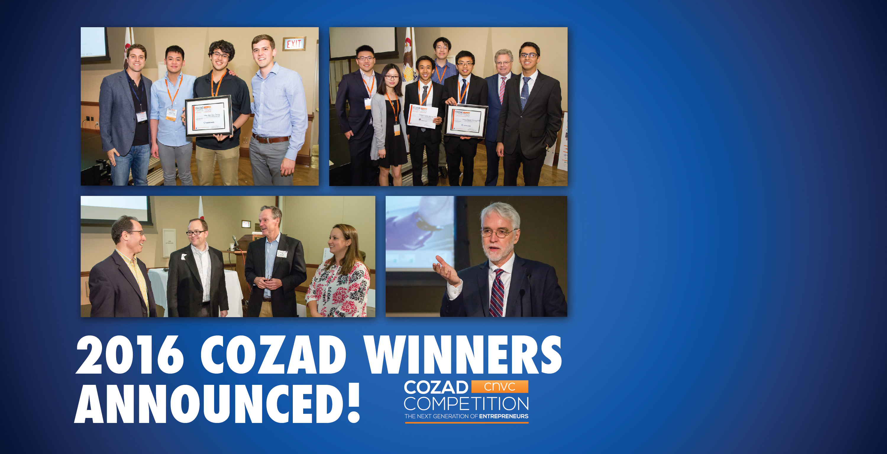 2016 Cozad Winners Announced!