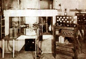 Cyclotron built at Illinois in 1936 by P.G. Kruger and his students.