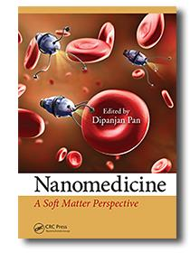 Image of front cover of book edited by Dipanjan Pan, Nanomedicine, A Soft Matter Perspective.