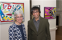 Deborah Paul and Milan Bagchi, who was recently named the Deborah Paul Professor of Molecular and Cellular Biology (Photo courtesy of the School of Molecular and Cellular Biology.)