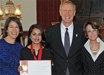LAS student receives Lincoln Academy Student Laureate Award