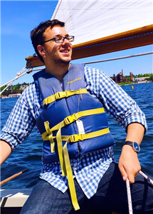 Living in Seattle, Nixon, a Champaign, Illinois, native, has the opportunity to follow a lifelong dream: sailing.