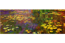 "This image of ""Water Lilies"" by Claude Monet is embedded in a new digital publication of a memoir about Monet. It is the first publication of a new, open-access digital publishing network of the University of Illinois Library, the Illinois Open Publishing Network. (Digital photograph from Wikimedia Commons.)"