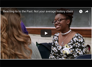 Video: Reacting to to the Past is not your average history class