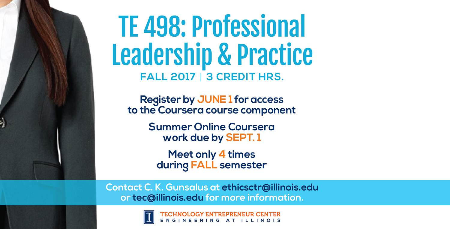 TE 498 Leadership