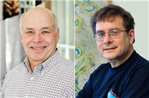 Donald Ort, left, and Gary Parker have been elected to the National Academy of Sciences.