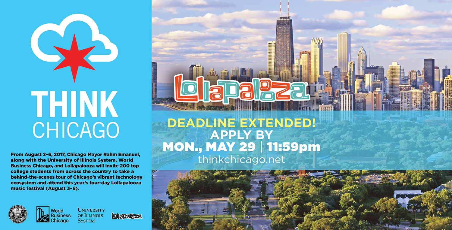 ThinkChicago May 2017 Deadline