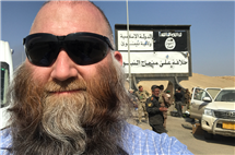 Chad Garland is a war correspondent for the Stars and Stripes. (Image courtesy of Chad Garland.)