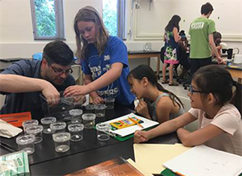 Girls Explore Biology Camp tackles a stereotype