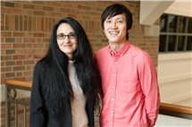 Psychology professor Sanda Dolcos, left, graduate student Yuta Katsumi, and their colleagues found that Western men, in particular, value handshakes, but only with other men.