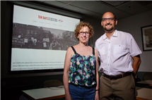 Professors Harriet Murav and David Cooper have played significant roles in organizing a fall semester series of campus events on the Russian Revolution, marking its 100th anniversary this year. Illinois is an obvious site for such a series, they note, given its leading role in Russian and Slavic studies.