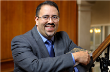 Illinois history professor Adrian Burgos Jr. specializes in the history of sports. (Photo by Jerry Thompson.)