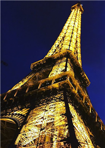 Jaycee Lynn, a student at Centenary College of Louisiana, shot this photo of the Eiffel Tower during her participation in the Centenary in Paris study abroad program, which is conducted with the help of three College of LAS alumni who work at Centenary. (Image courtesy of Centenary.)