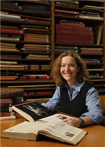 A day at the archives is one of the best days at work, said Cara Finnegan.