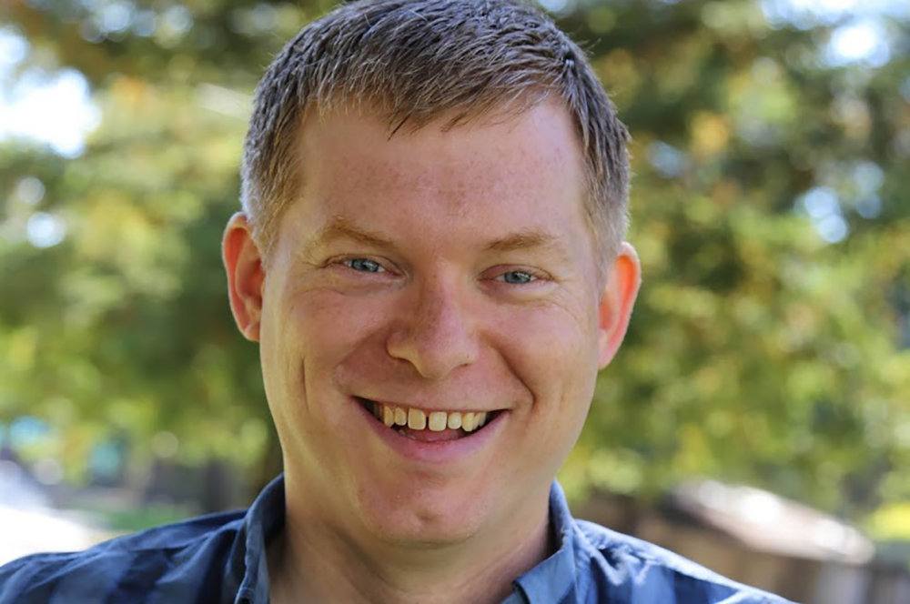 Tim Kilbourn works on systems-level programming at Google. He did not expect to be working at the company, but he has found his mathematics background to be a great foundation for his work. (Image courtesy of Tim Kilbourn.)