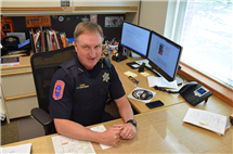 Jeff Christensen will retire on Dec. 31, 2017, after spending his entire career with the University of Illinois Police Department. (Image courtesy of Jeff Christensen.)