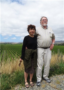 The work ethic of undergraduate students inspired professors Chi-Hing Christina Cheng and her husband, Arthur DeVries, to establish scholarships to support student research. (Photo courtesy of Chi-Hing Christina Cheng.)
