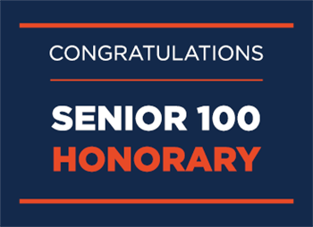 College of LAS students named to Senior 100 Honorary