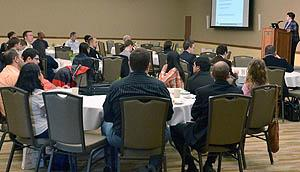 The third annual  Power and Energy Conference at Illinois brought in 110 attendees to the I Hotel and Conference Center.