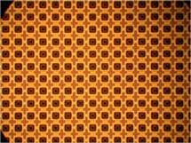 ECE Professor Gary Eden and his team are striving to make light sources at the nanoscale level. Pictured here is a portion of a 512 x 512 fully-addressable microcavity plasma array fabricated in a four-inch diameter silicon wafer. Photo courtesy of Gary Eden.