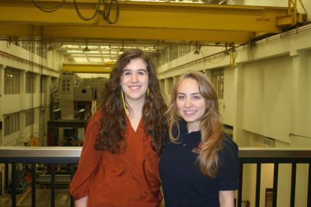 Illinois seniors Jill McClary and Elena Antonakos have both been named to the Knights of St. Patrick in addition to their involvement in Engineers Without Borders