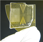 The small, disposable biochip can count CD4+/CD8+ T cells quickly and accurately for HIV diagnosis.