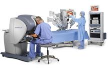 The da Vinci S Surgical System. Photo courtesy of Intuitive Surgical Inc.