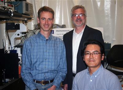 (l to r) Paul Braun, David Cahill, and Jiung Cho.