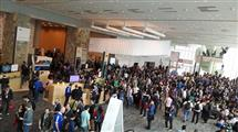A fraction of the many participants at Google I/O.