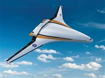 One of NASA's concepts for a future aircraft design.