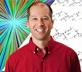 Associate Professor Timothy Stelzer, author of the MadGraph matrix element generator for high-energy physics research
