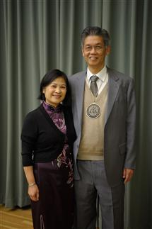 Weng Chew and his wife Chew Chin Phua.