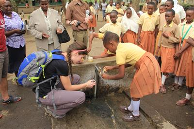 Students from the University of Illinois are making a difference in helping bring safe drinking water to citizens in East African nations.