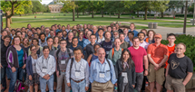 A group photo of conference attendees