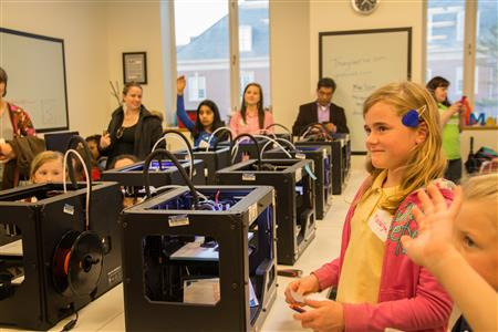 Each session takes place in the MakerLab located at the Business Instructional Facility (BIF) on campus.