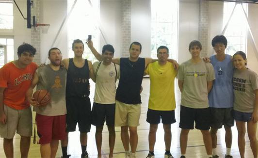 First PGSA Basketball Tournament August 2012