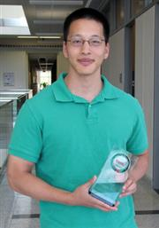 ECE graduate student Albert Liao recently received a 2010 TSMC Outstanding Student Research Award for his work on carbon nanotubes.