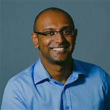 ECE alumnus Rajiv Maheswaran, now the co-founder and CEO of Second Spectrum