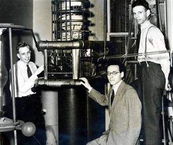 John H. Manley, Maurice Goldhaber, and Leland J. Haworth