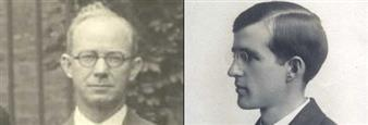Left to right: Elmer Williams, Edward B. Stephenson