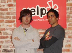 CS Alumnus Russel Simmons and ECE Alumnus Jeremy Stoppelman are the founders of Yelp, a unique Web site where you're the critic.