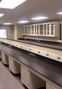 The first phase of the wet lab expansion at DCL is complete.