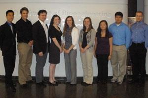From left to right Calvin Wang, Austin Lee-Richerson, Isaac J DuPree, Samantha Blum, Kelsey Erickson, Caroline Cvetkovic, Jaclyn Yanjie Yu, Andrew Lee, Andrew T Naber.