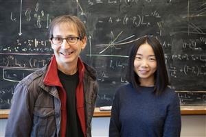 Swanlund Professor of Physics Nigel Goldenfeld and graduate research assistant Chi Xue, Carl R. Woese Institute for Genomic Biology, University of Illinois at Urbana-Champaign