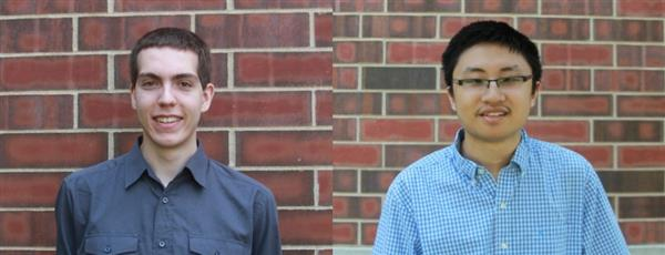 Cody Pawlowski (left) and William Widjaja (right), co-founders of Tweetsense